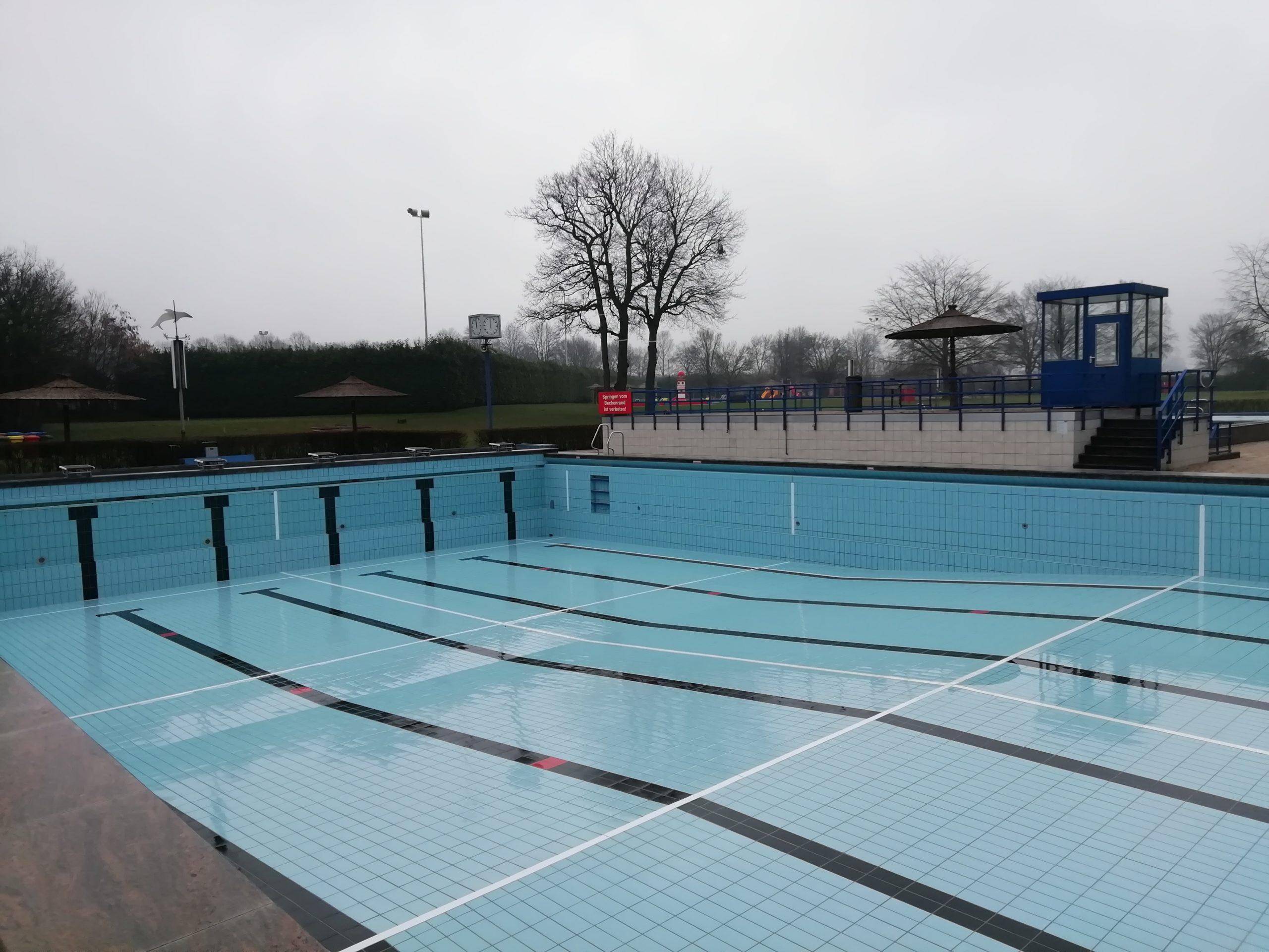Vorbereitungen für die Badesaison 2021